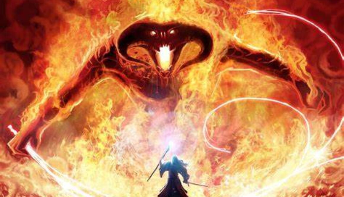 balrog and gandalf for grant